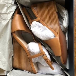 Brand new Cole haan wedges 9.5